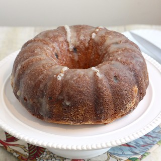 Eggnog Pound Cake with Crystal Rum Glaze | by Tracey's Culinary Adventures