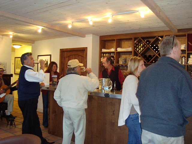 Holman Ranch Vineyards Tasting Room