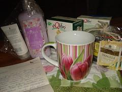 Chá Primavera na Caneca by Juliana - Madeirarte