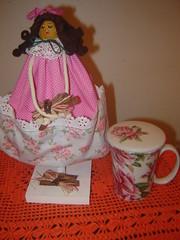 Boneca Porta Chá by Ro!100%artesanato