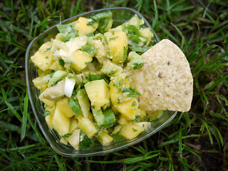 Fresh Mango & Avocado Salsa | by travelling two