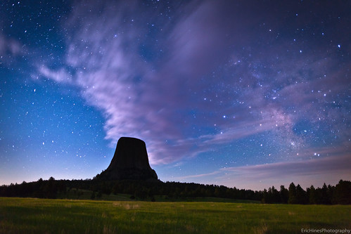 Moon Light on Devils Tower (Explore) | by Eric Hines Photography
