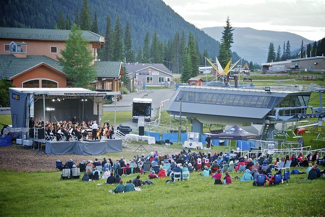 Weekend at Sun Peaks Resort: August 2011