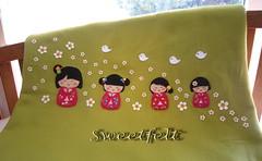 ♥♥♥ Yoi nichiyōbi !!!! Bom domingo!!!! by sweetfelt \ ideias em feltro