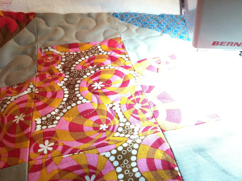 Monday morning quilting | by Fresh Lemons : Faith
