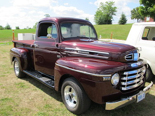 1948 Mercury pickup,Noon,s super Cruise, hwy115 Ont Canada 013 | by reidbrand
