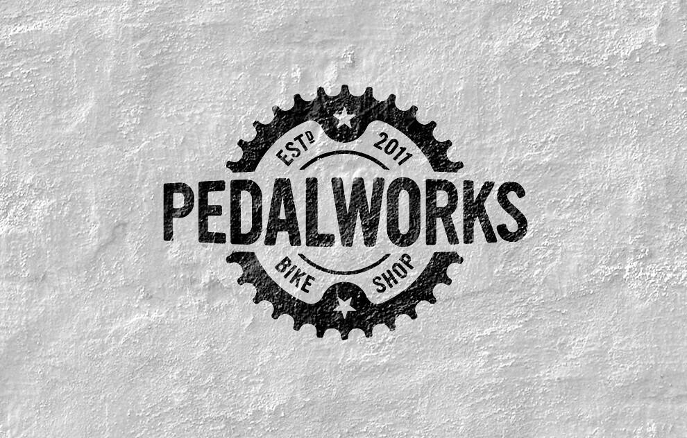 Bicycle Shop Logo Pedalworks Bike Shop Logo