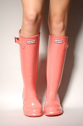 Hunter Coral Boots | by Bevjwilson2005