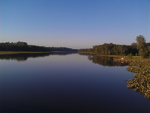 Morning bike ride: View from Harrison Ferry Bridge at Marshyhope Creek - Morning Bike Ride | by WWJB