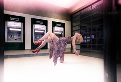 A funny thing happened on the way to the cashpoint by Nick Layton Photography