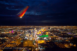 Las Vegas at Night (from Southwest Airlines N478WN) | by Stefan Heymanns