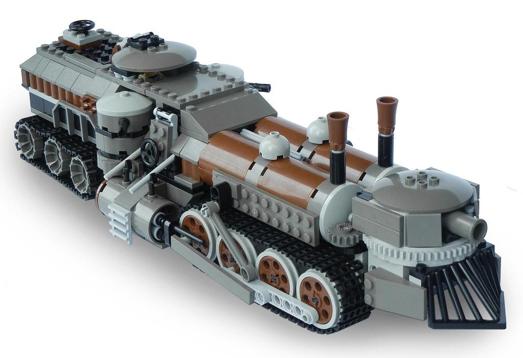 Lego Steampunk Train Lego Steampunk Flickr