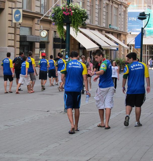 Brazil -HELSINKI CUP 10.7.-16.7.2011