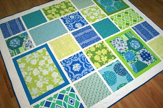 Loulouthi Tiles Quilt | by sonnetofthemoon
