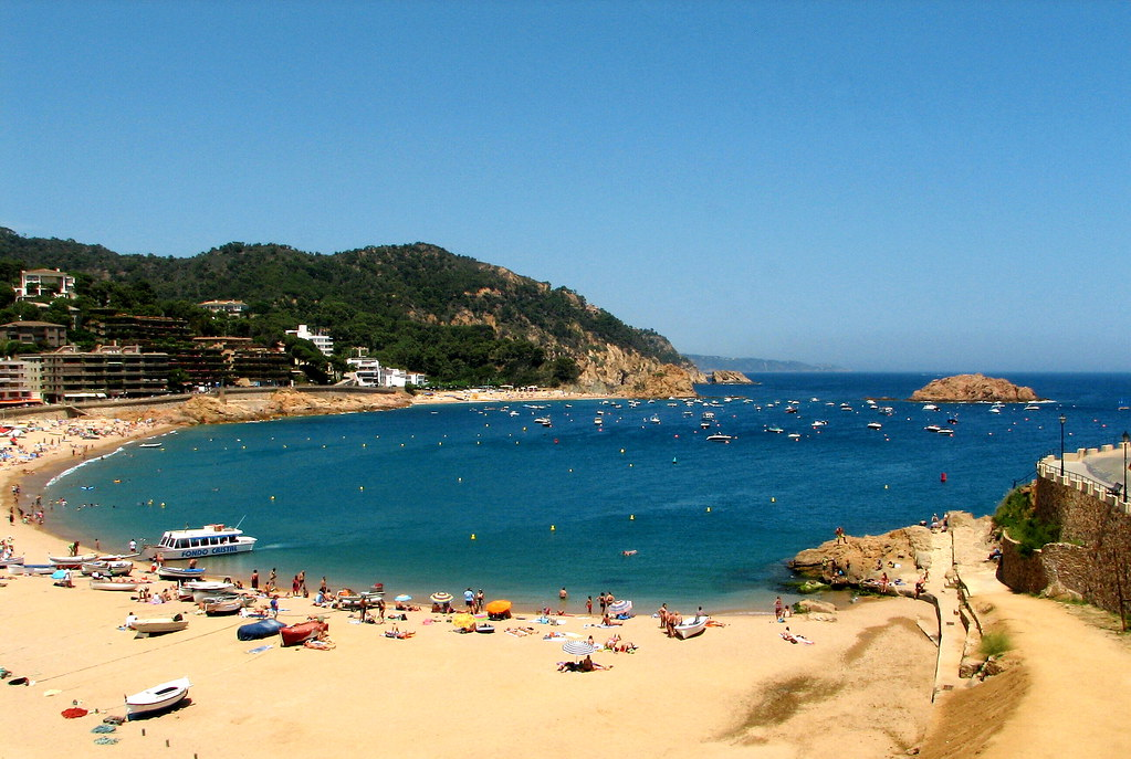 Tossa de Mar - general view