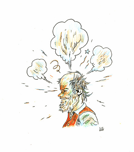 Will Oldham Color Doodle | by Sammy Harkham