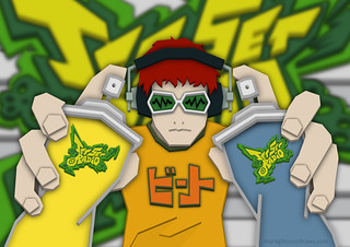 Jet Set Radio - Beat | by Mark Gilmour