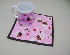Caneca + mug rug by Ana Paula Louvem - Atelier Doce Sabor