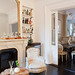 The Brooklyn Home Company / Emily Gilbert {eclectic white rustic traditional modern living room}