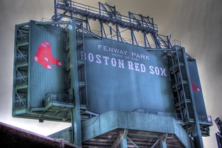 Boston Red Sox in HDR