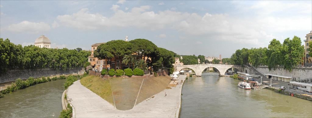 L'île Tibérine (Rome)