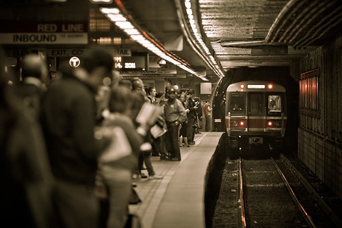 Boston subway: South Station | by zw1975