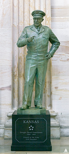 Dwight D. Eisenhower Statue | by USCapitol