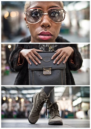 Triptychs of Strangers #23, The Kharise Francis herself - London | by adde adesokan