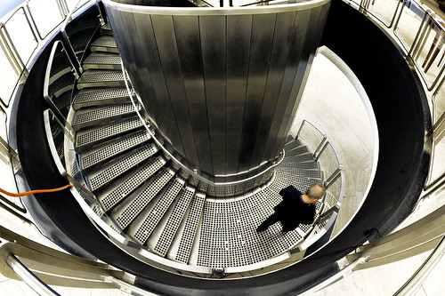 Staircase at Geneva Headquarters | by United Nations Photo