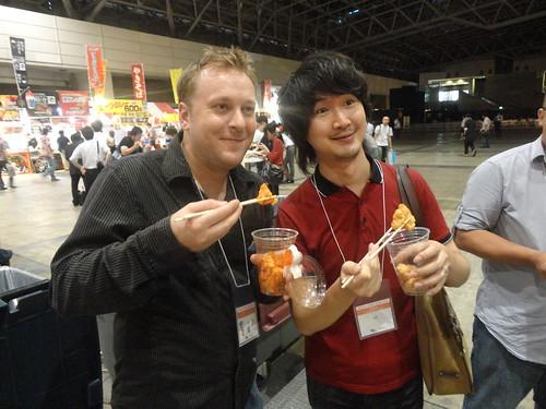 Wouter and Tokuhara-san