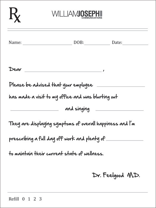 doctor s note to return to work
