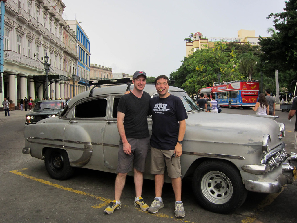 My brother Justin and I enjoyed the streets of Havana, Cuba