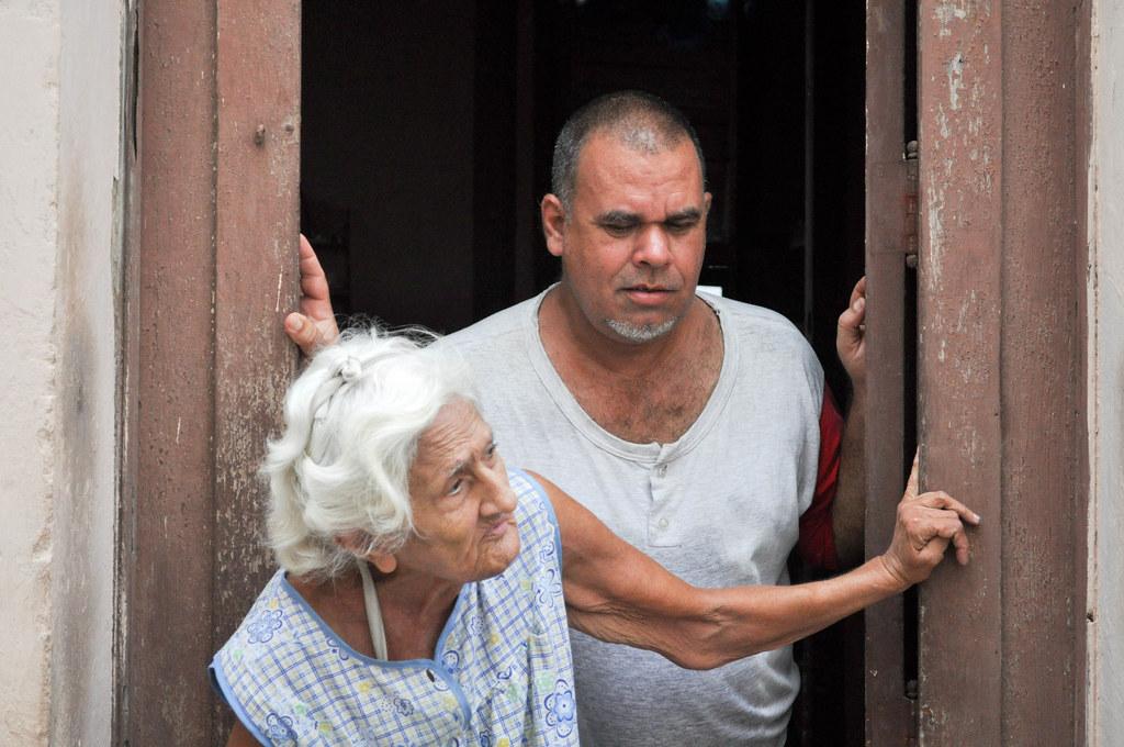 Visiting Jewish homes in Havana, Cuba