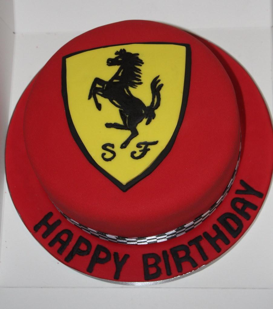 Ferrari Cake Tin