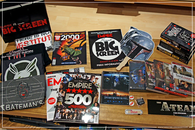 Empire BIG SCREEN : BIG SCREEN Goody Bag