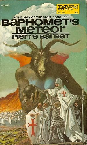 Baphomet's Meteor - Pierre Barbet - cover artist Karel Thole