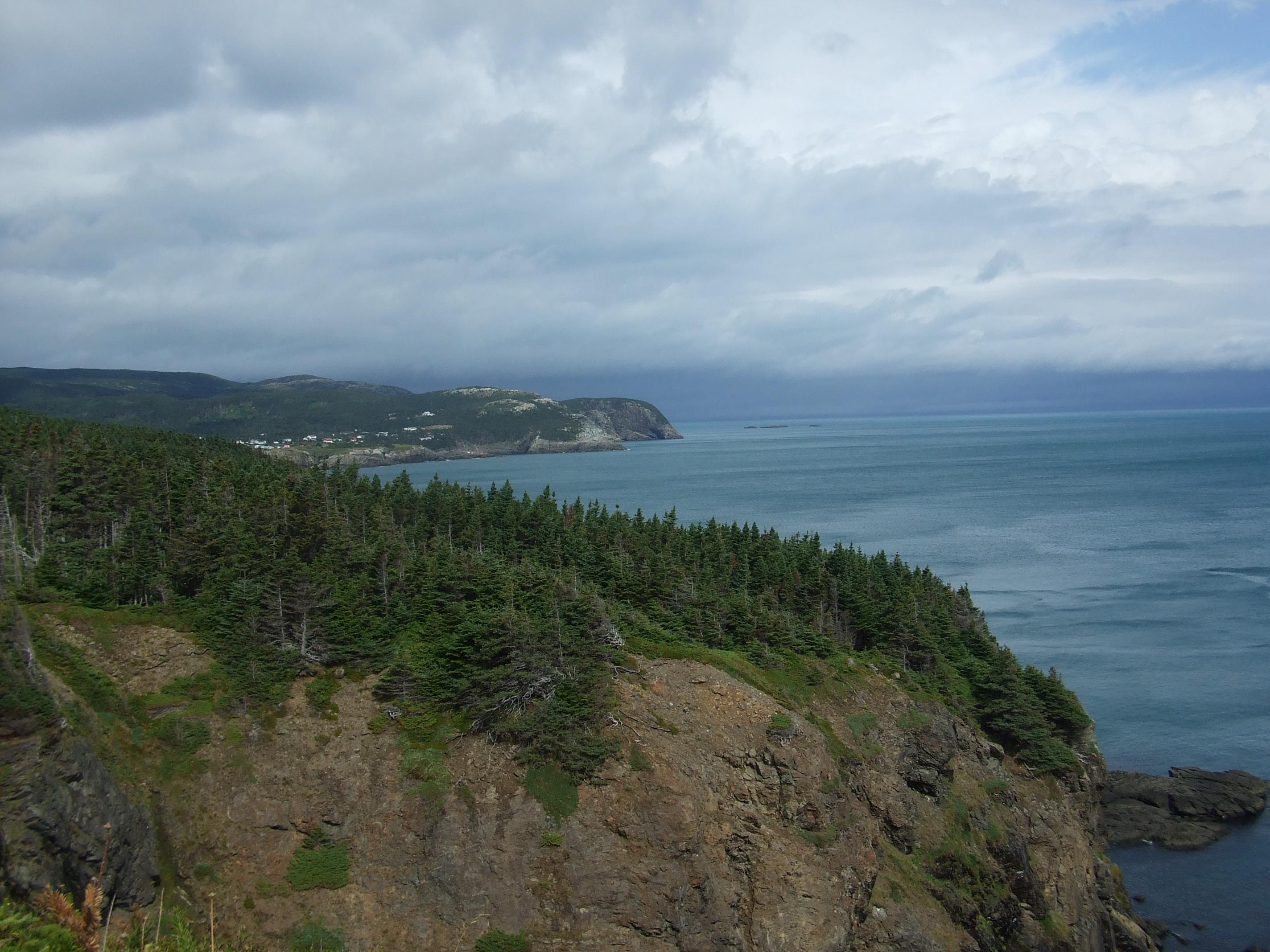Over the headland -East Coast Trail