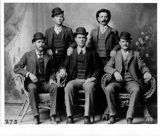Butch Cassidy and The Wild Bunch - ca. 1900 (Public Domain)