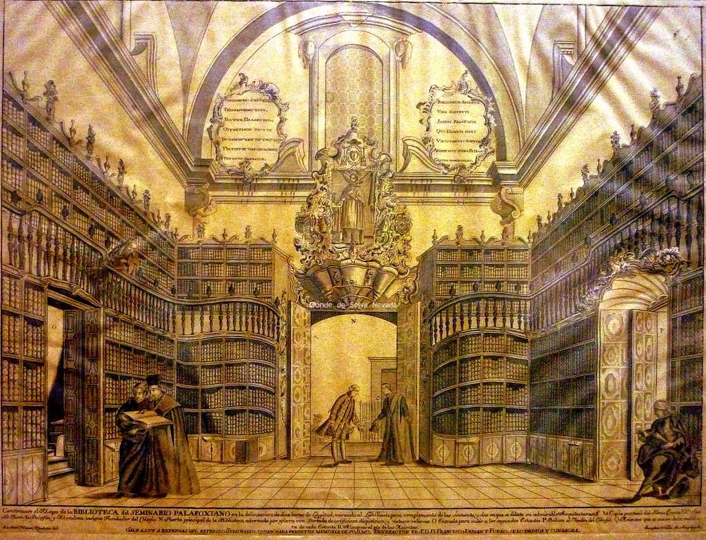 Biblioteca Palafoxiana en la antiguedad