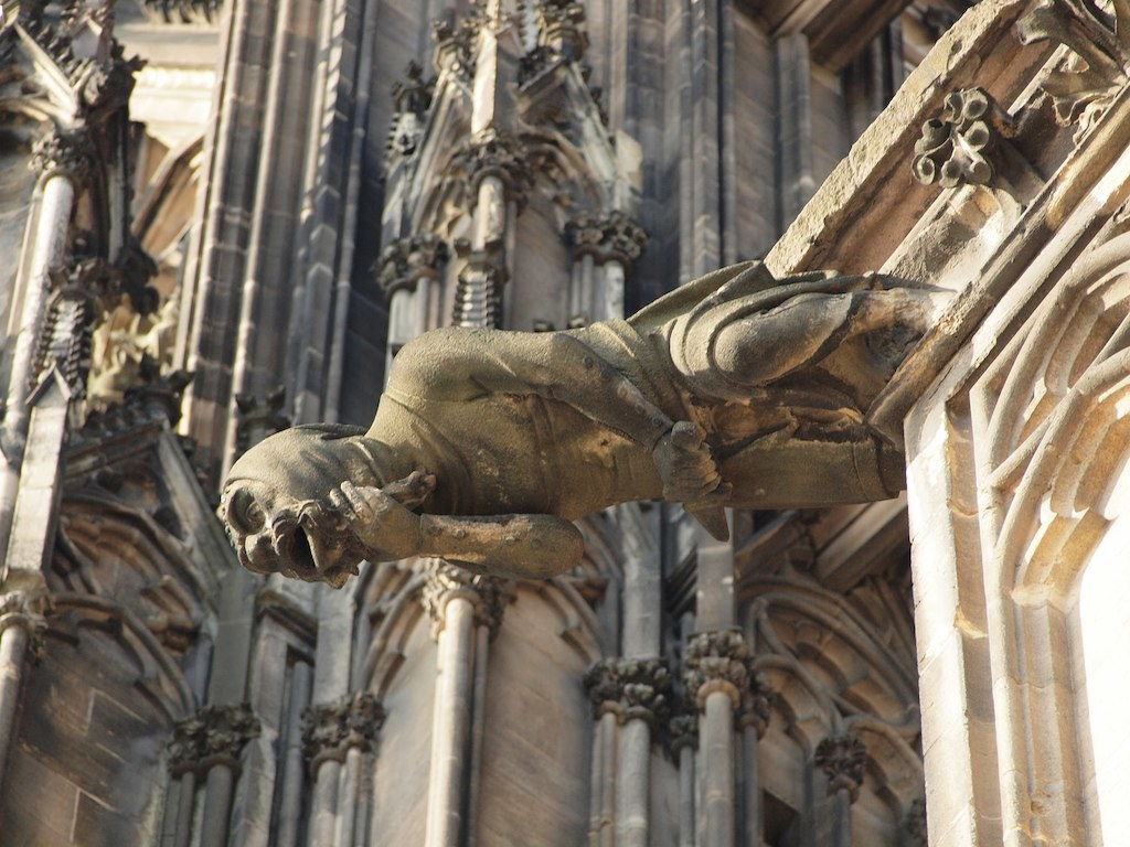 Cologne Cathedral Gargoyles Cologne Cathedral