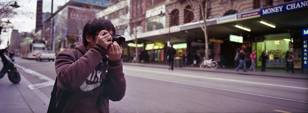 Xpan Photo shoot at melbourne FUJI REALA 100 XPAN + 45MM by Qing Miao
