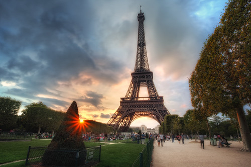 Sunset at The Eiffel Tower | by TheFella