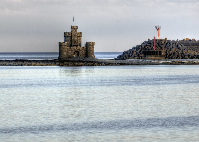 Castle of Refuge in Douglas Bay, Isle of Man