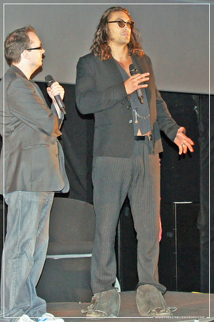Empire BIG SCREEN : European Premiere of Conan The Barbarian - Jason Momoa (Conan) introduces Marcus Nispel's Conan The Barbarian
