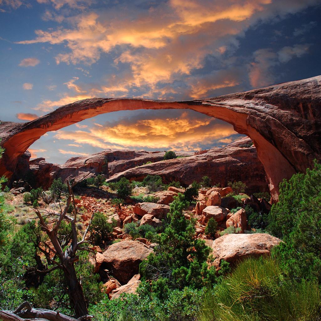 Landscape Lighting Utah: Arches National Park In