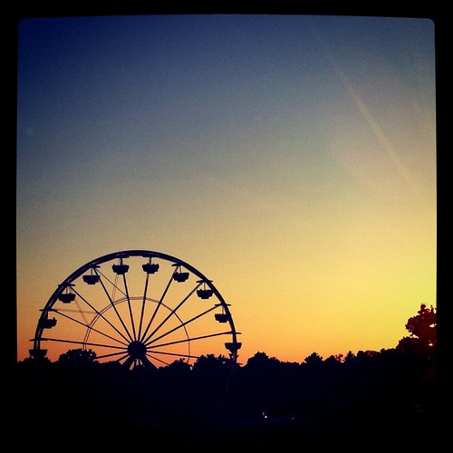 Ferris Wheel: Instagram, X-Pro II filter | by All Things Bright