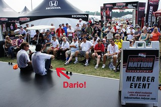 Dario Franchitti at ICN Member event | by IndyCar Series