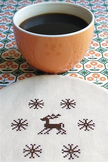 Cross Stitch: Retro Reindeer | by Sewing Daisies