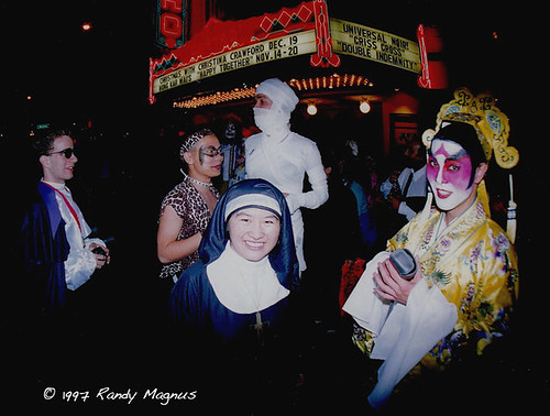 Halloween on Castro St. SF 1997 -1 | by ArtTv