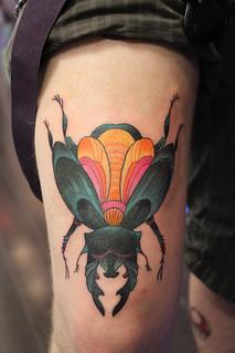 7 Appealing Beetle Tattoos - Tattoo com